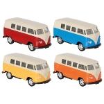 Volkswagen Microbus (1962), en métal, 1:60, L= 7,3 cm