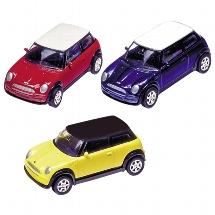 Mini Cooper (2001), Spritzguss, 1:60, L= 7 cm