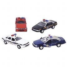 Sonic State Rescue,Polizeiauto mit Sirene + Licht, L= 13 cm