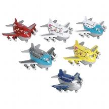 Airplane with sound, die-cast, L= 9 cm