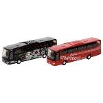 Reisebus MB Travego aus Spritzguss, 1:60, L= 18 cm