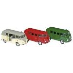 VW Classical Bus (1963), die-cast, 1:34-39, L = 11,5 cm