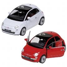 Fiat 500 (2007), die-cast, 1:24