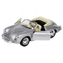 Porsche 356B Cabriolet, die-cast, 1:24, L= 18 cm