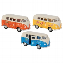 Volkswagen T1 Bus (1963), Spritzguss, 1:34-39, L= 11,5 cm