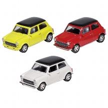 Mini Cooper 1300, Spritzguss, 1:60, L= 6,7 cm