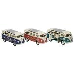 Volkswagen Microbus mit Druck, Spritzguss, 1:24, L= 17,8 cm