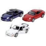 Porsche, die-cast, 1:34-39, L= 11,5 - 12 cm