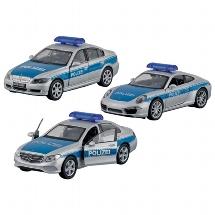 Polizei, Spritzguss, 1:34-39, L= 11 - 12 cm