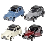 Citroen 2CV 6 Charleston (1979), die-cast, 1:24, L= 16,2 cm