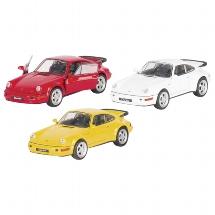 Porsche 964 Turbo, die-cast, 1:37, L= 11,5 cm