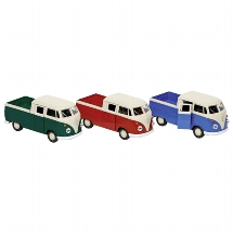 Volkswagen T1 Double cab Pick-up, die-cast, 1:38, L= 11,5 cm