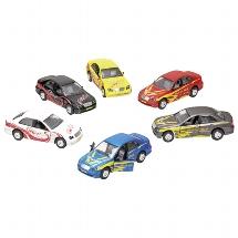 Sport Cool Car, light and sound, die-cast, L= 15 cm