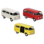 Volkswagen Bus T2 (1972), die-cast, 1:34-39, L= 11,3 cm
