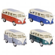 Volkswagen Bus T1 (1962), die-cast, 1:31, L= 13,5 cm
