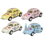 Volkswagen Classical Beetle (1967) with print ,die-cast,1:32