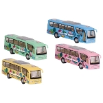 Coach with print,die-cast, L= 18 cm