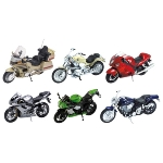 Motorräder, Spritzguss, 1:18, L= 11-13 cm