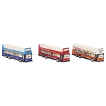 Sightseeing bus, die-cast, L= 18,3 cm