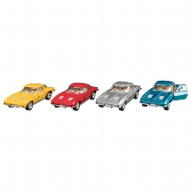Corvette Sting Ray (1963), Spritzguss, 1:36, L= 13 cm