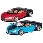 Bugatti Chiron, die-cast, 1:24, L= 19 cm