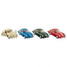 Porsche 356 B Carrera  2, Spritzguss, 1:32, L= 12,5 cm