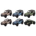 Jeep Wrangler (2018), die-cast, 1:34, L= 12,5 cm