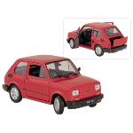 Fiat 126, en métal, 1:24, L= 15 cm