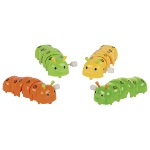 Caterpillar with wind-up motor