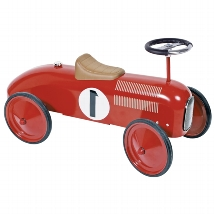 Ride-on vehicle red