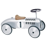 Ride-on vehicle silver