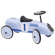 Ride-on vehicle blue
