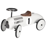 Ride-on vehicle white