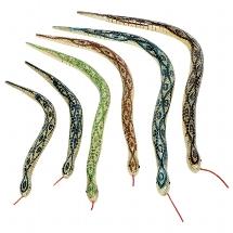 Gliederschlange aus Holz