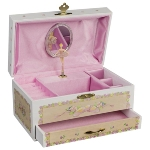 Music box, Ballerina IV with drawer
