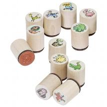 Stamps wild animals