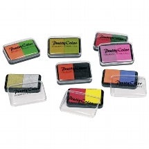Pigment stamp pad - two colours