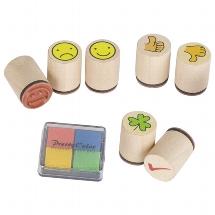 Stamp cloverleaf, Smile ... (7 stamps)