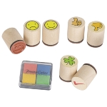 Stamp cloverleaf, Smile ... (7 stamps)