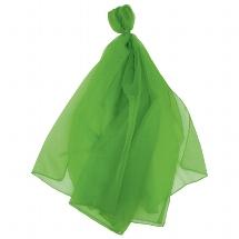 Juggling scarf, green