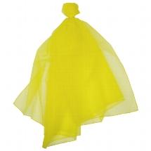 Chiffontuch, gelb