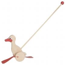 Duck, push-along animal