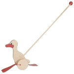 Duck, push-along animal