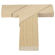The tricky T-shape, puzzle