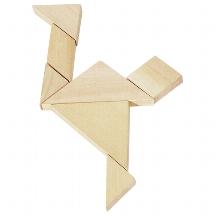 Tangram game, puzzle