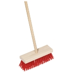 Broom for children, synthetic bristles