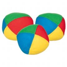 Jonglierball gefüllt mit Kunststoffkugeln