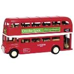 London Bus, die-cast, L= 12 cm