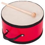 Drum with wooden stick