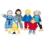 Flexible puppets City Family